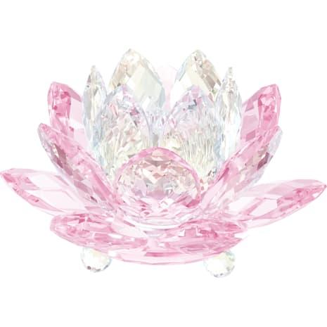 Nenúfar Candelero, rosa - Swarovski, 5066010