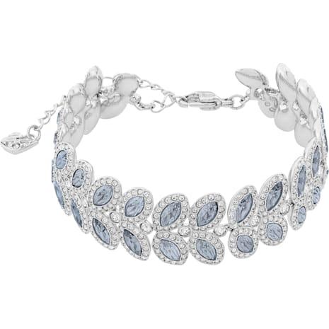 Baron Bracelet Blue Rhodium Plated