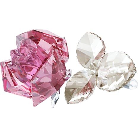 Blossoming Rose, Light Pink - Swarovski, 5094612
