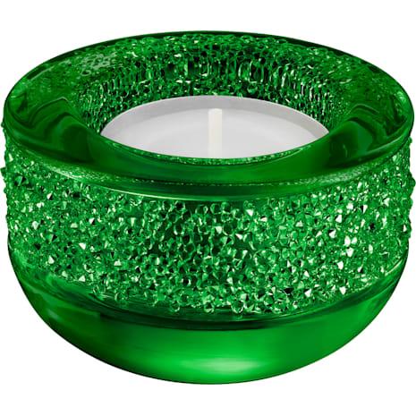 Shimmer Tea Light, Green - Swarovski, 5108880