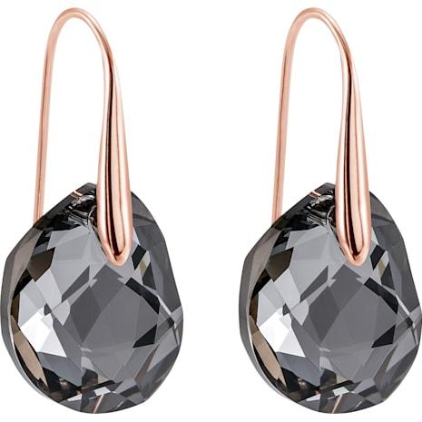 Swarovski Galet Bordeaux Pierced Earrings The Best Produck