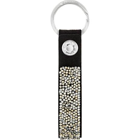 Glam Rock Schlüsselanhänger, schwarz, Edelstahl - Swarovski, 5174947
