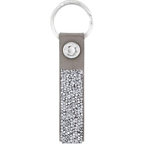 Glam Rock Schlüsselanhänger, grau, Edelstahl - Swarovski, 5174951