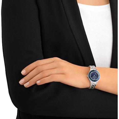 Reloj Alegria, Correa de metal, azul, tono plateado - Swarovski, 5194491