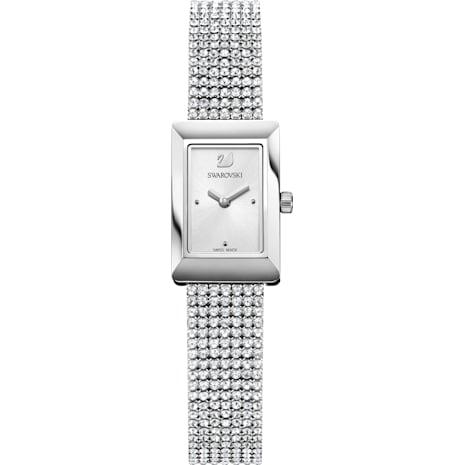 Reloj Memories, Correa Mesh, blanco, acero inoxidable - Swarovski, 5209187
