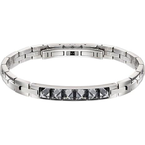 Fire Bracelet, Gray, Mixed metal finish - Swarovski, 5217241
