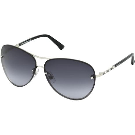 Fascinatione Sunglasses, SK0118 17B, Black - Swarovski, 5219658