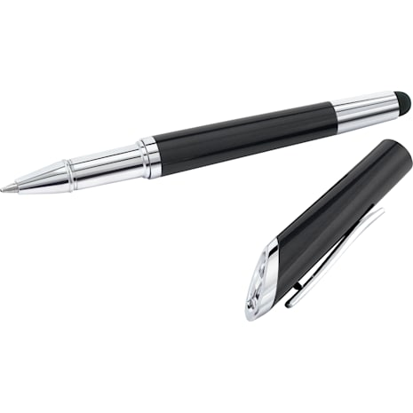Crystal Starlight Stylus Ballpoint Pen, Black - Swarovski, 5224376
