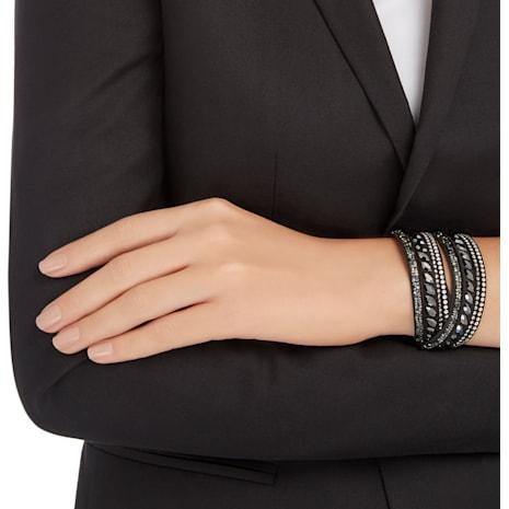 Slake Armband, schwarz - Swarovski, 5225974
