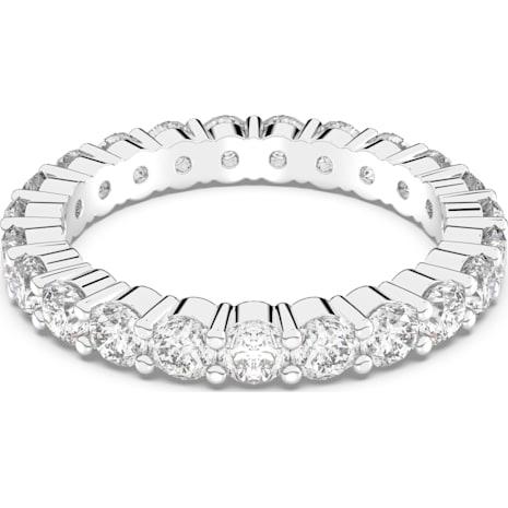 Vittore Ring, weiss, Rhodiniert - Swarovski, 5237742