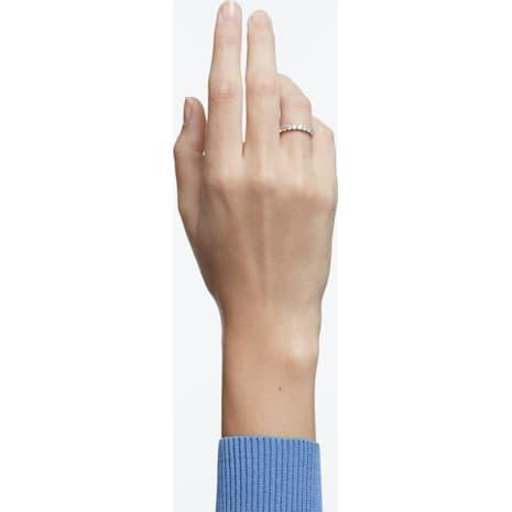Anello Vittore, bianco, Placcatura rodio - Swarovski, 5237742
