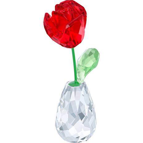 Çiçek Düşleri – Kırmızı Gül - Swarovski, 5254323