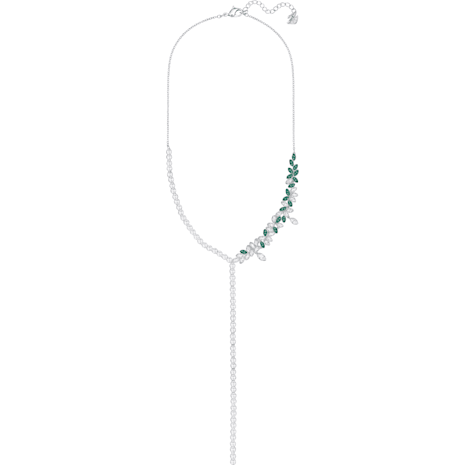 Garden Necklace, Medium, Green - Swarovski, 5266395
