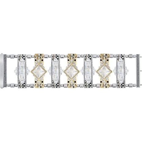 Granite Bracelet, White - Swarovski, 5267791