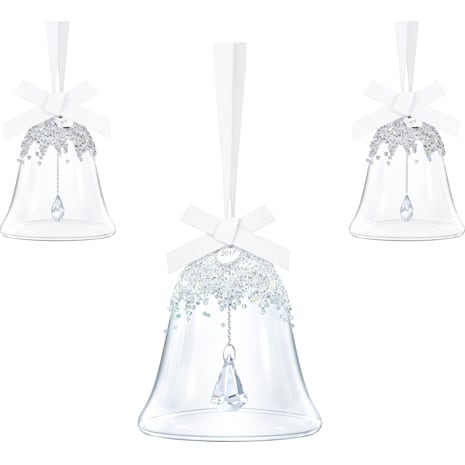 Christmas Bell Ornament Set, Annual Edition 2017 - Swarovski, 5268013