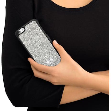 Glam Rock Gray Smartphone Case with Bumper, iPhone® 6 - Swarovski, 5268127
