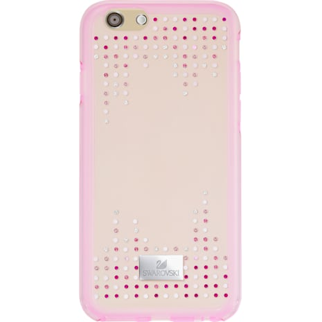 Crystal Rain Smartphone Case with Bumper, iPhone® 7 Plus, Pink - Swarovski, 5280584