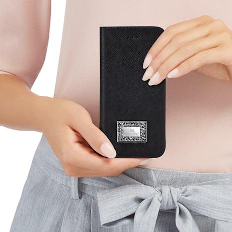 Custodia a portafoglio per smartphone con bordi protettivi, Samsung Galaxy S® 7, Nero - Swarovski, 5285093