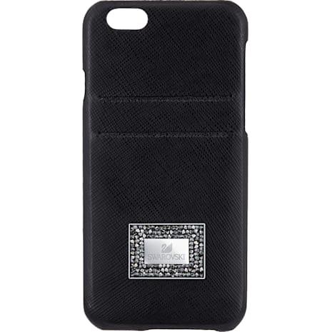 Coque rigide pour smartphone avec cadre amortisseur Versatile, iPhone® 6 Plus / 6s Plus, Noir - Swarovski, 5285094