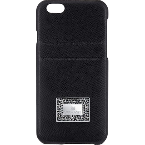 Versatile Smartphone Case with Bumper, iPhone® 6 Plus / 6s Plus, Black - Swarovski, 5285094