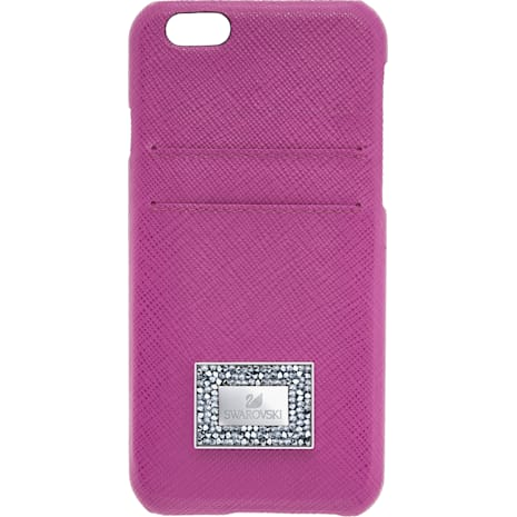 Custodia smartphone con bordi protettivi Versatile, iPhone® 6 Plus / 6s Plus, Rosa - Swarovski, 5285126