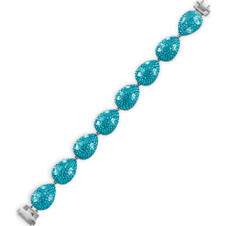 Moselle Bracelet, palladium plating - Swarovski, 5298441