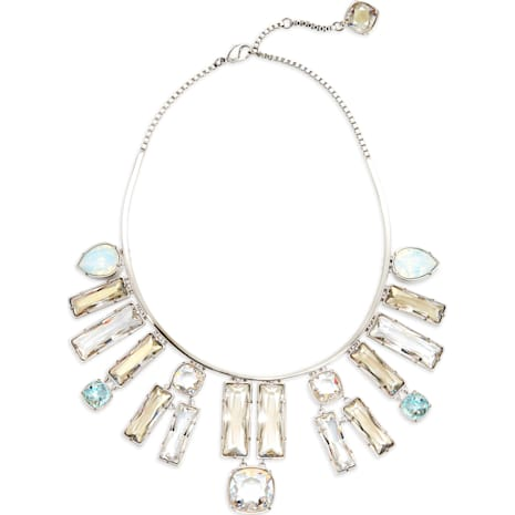 Nile Necklace, palladium plating - Swarovski, 5298626