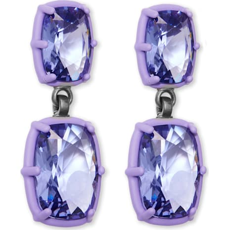 Jewel-y McHue-y Drop Ohrringe, mattes lila Finish - Swarovski, 5298756