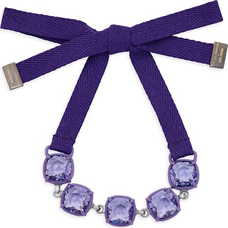 Jewel-y McHue-y Bracelet, purple matt varnish - Swarovski, 5298763