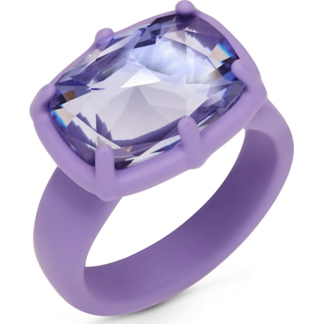 Jewel-y McHue-y Small Ring, purple matt varnish - Swarovski, 5298764