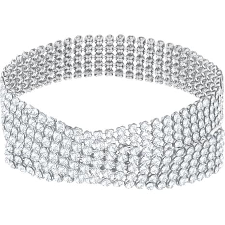 Fit Halsband, weiss, Palladiniert - Swarovski, 5299886