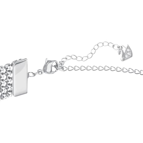 Fit Choker, White, Palladium plated - Swarovski, 5299886