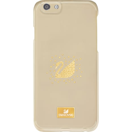 Swan Golden Smartphone Case with Bumper, iPhone® 7 Plus - Swarovski, 5300264