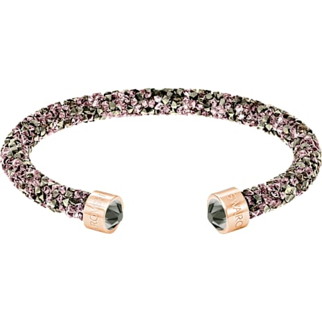 Crystaldust Cuff, Multi-colored, Rose-gold tone plated - Swarovski, 5348098