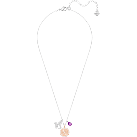 Pendentif Zodiac, Capricorne, violet, Métal rhodié - Swarovski, 5349216