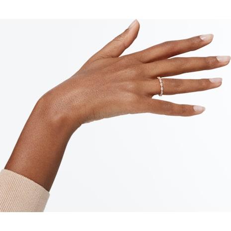 Vittore Marquise Ring, White, Rose-gold tone plated - Swarovski, 5351769