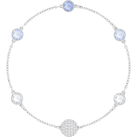 Swarovski Remix Collection Timeless Strand, Blue, Rhodium plated - Swarovski, 5354791