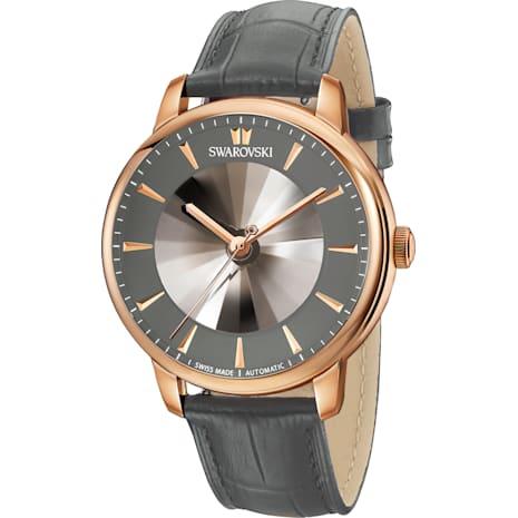 Atlantis Limited Edition Automatic Men's 手錶, 灰色, 玫瑰金色調PVD - Swarovski, 5364203