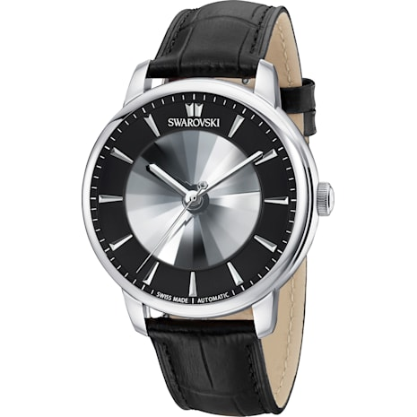 Atlantis Limited Edition Automatic Men's 手錶, 黑色, 不銹鋼 - Swarovski, 5364209