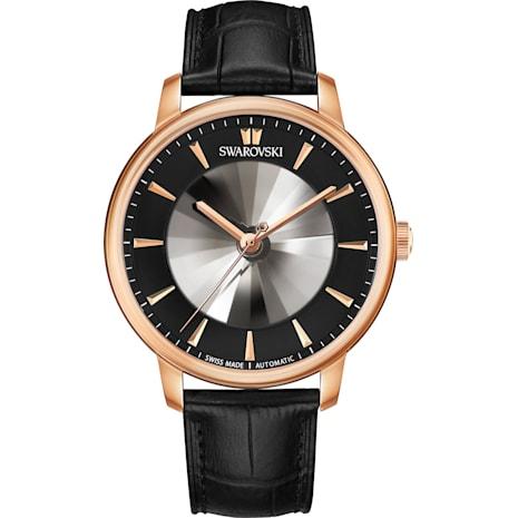Atlantis Limited Edition Automatic Men's 手錶, 黑色, 玫瑰金色調PVD - Swarovski, 5364212