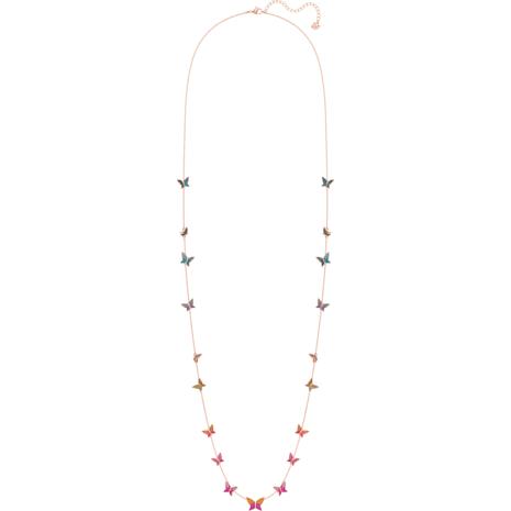 Collana Lilia, multicolore, placcato oro rosa - Swarovski, 5374335