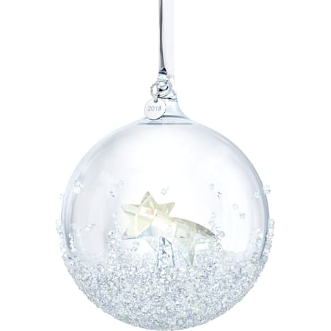 Christmas Ball Ornament, Annual Edition 2018 - Swarovski, 5377678