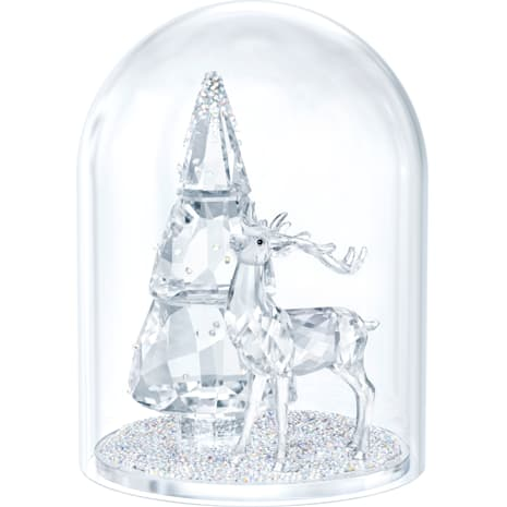 Campana di Vetro – Abete e Cervo - Swarovski, 5403173