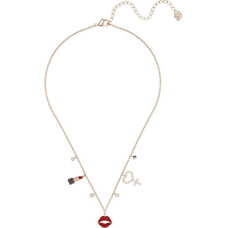Mine Halskette, mehrfarbig, Metallmix - Swarovski, 5409471