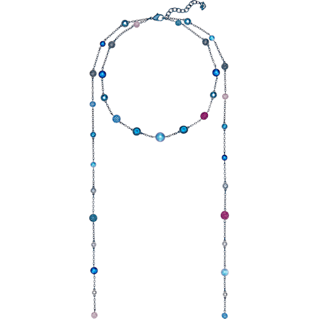 Model Strandage, Multi-colored, Blue PVD coating - Swarovski, 5410991