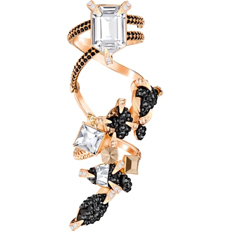 Manor Ring, Multi-colored, Rose-gold tone plated - Swarovski, 5410995