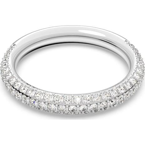 Stone Ring, weiss, Rhodiniert - Swarovski, 5412047