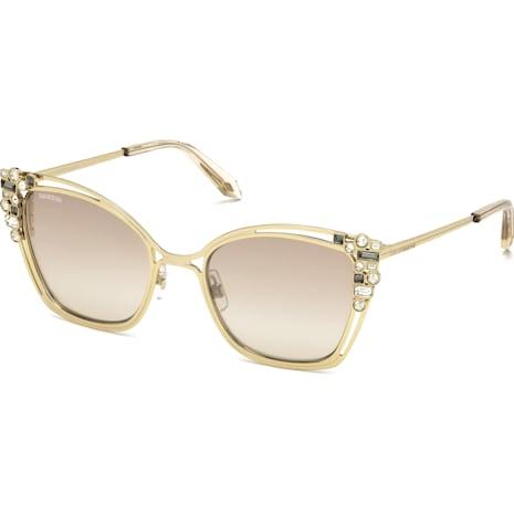 Nile Cat Eye Sonnenbrille, SK163-P 32G, Light Gold - Swarovski, 5415541