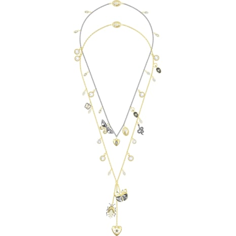 Magnetic Necklace, Multi-colored, Mixed metal finish - Swarovski, 5416699