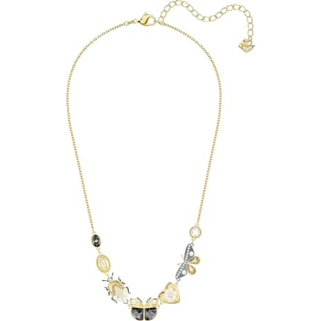Magnetic Necklace, Multi-colored, Mixed metal finish - Swarovski, 5416780